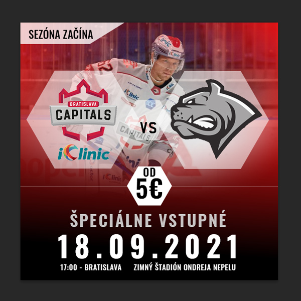 iClinic Bratislava Capitals vs Dornbirn Bulldogs