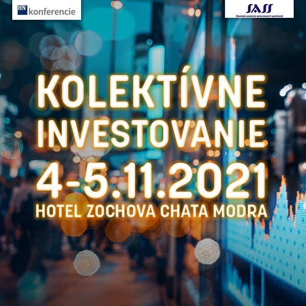 Kolektívne investovanie 2021 - online stream