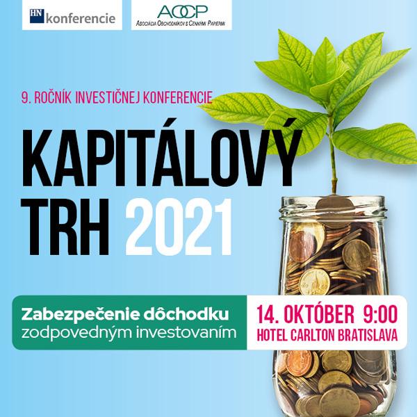 KAPITÁLOVÝ TRH 2021 - online stream