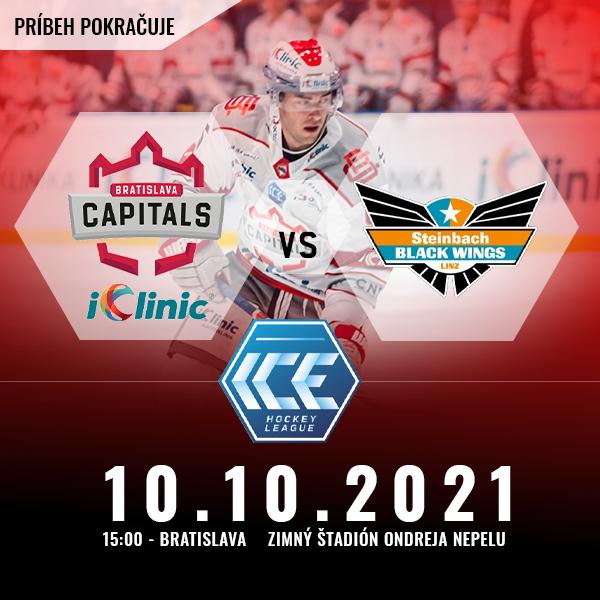 iClinic Bratislava Capitals vs Linz BlackWings