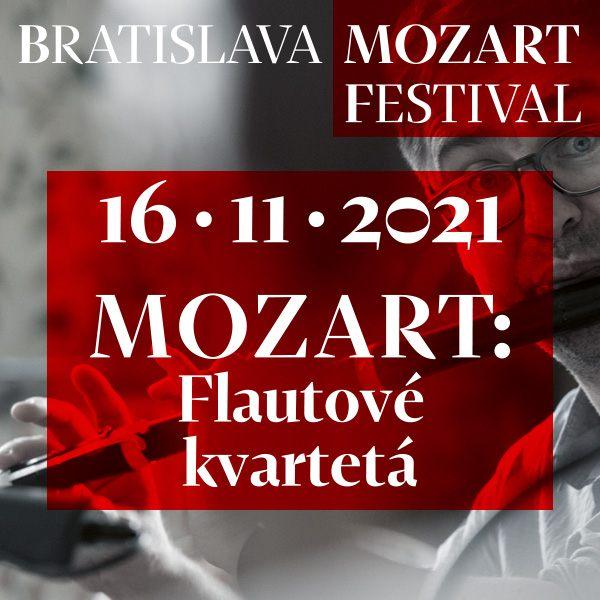MOZART: Flautové kvartetá