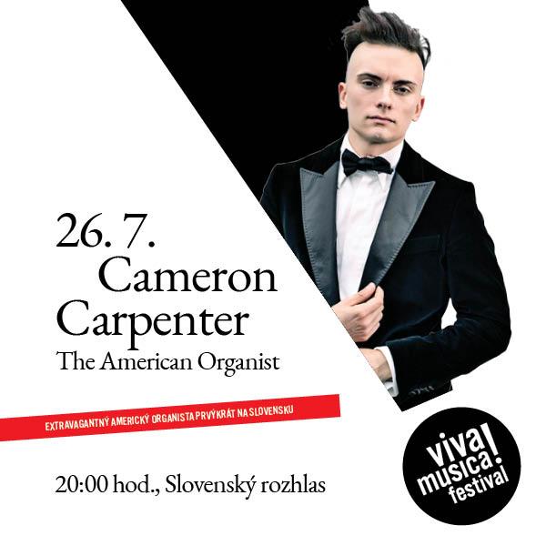 CAMERON CARPENTER: THE AMERICAN ORGANIST