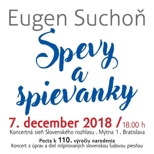 Eugen Suchoň, Spevy a spievanky