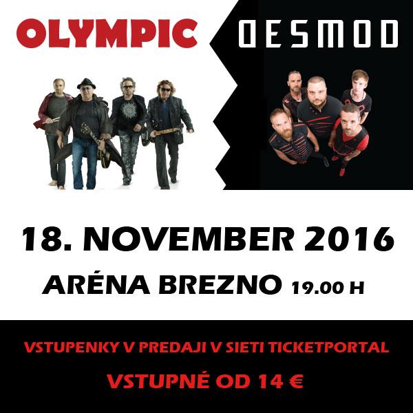 OLYMPIC & DESMOD Brezno 2016