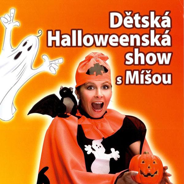Detská halloweenská show s Míšou