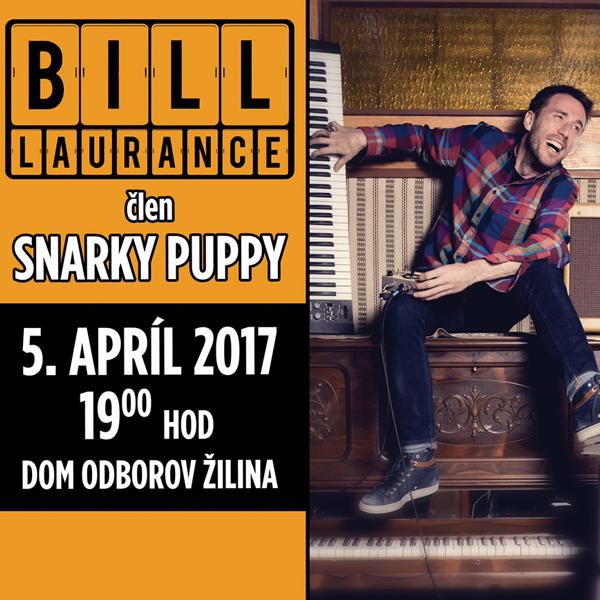 Bill Laurance v Žiline - Jarné jazzové dni