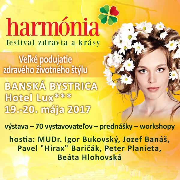 HARMÓNIA Festival zdravia a krásy