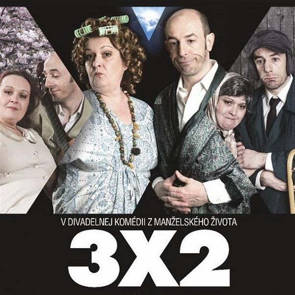 Komédia 3x2