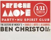 Depeche Mode Party with Ben Christo