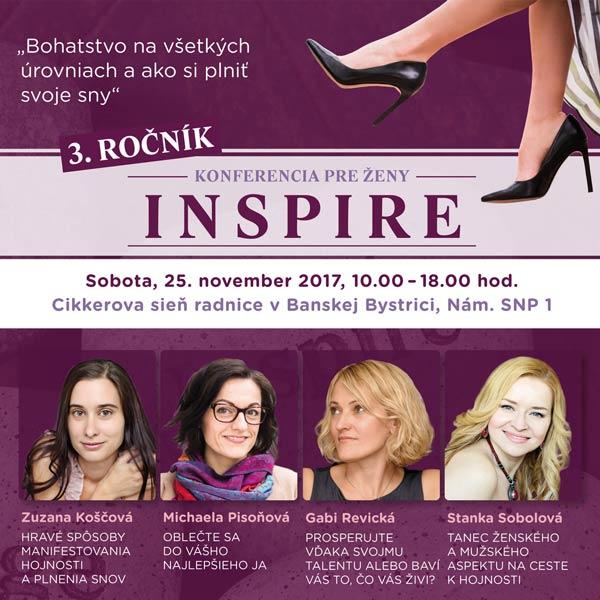 Konferencia pre ženy INSPIRE