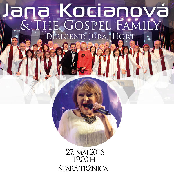 JANA KOCIANOVÁ & THE GOSPEL FAMILY