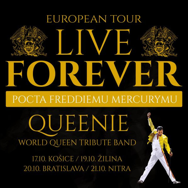 LIVE FOREVER – POCTA FREDDIEMU MERCURYMU16