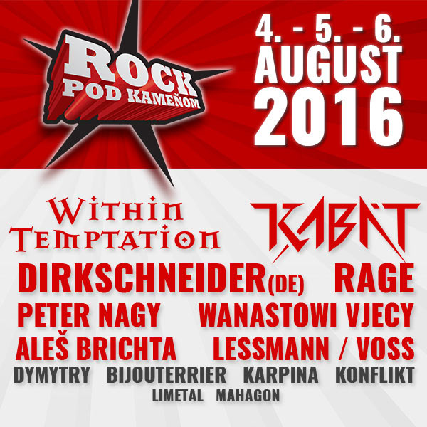 Rock pod kameňom /Snina Open Air Festival/