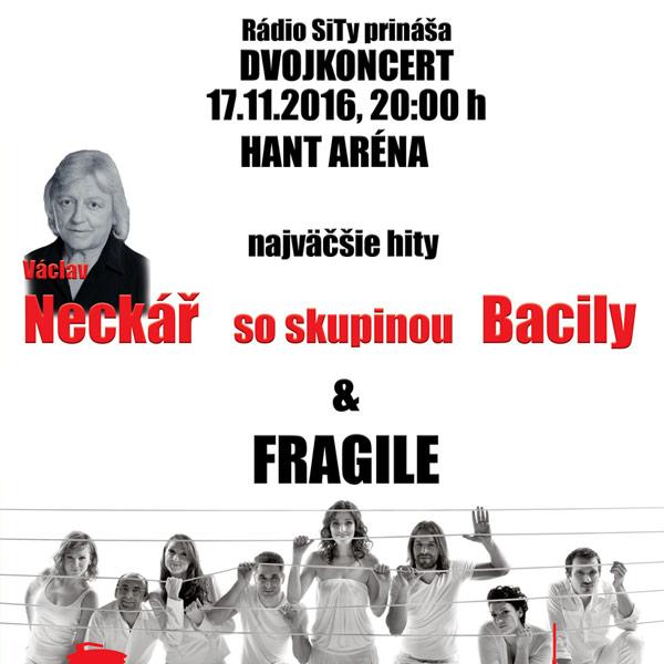 Dvojkoncert: Vašek Neckař / Bacily + Fragile