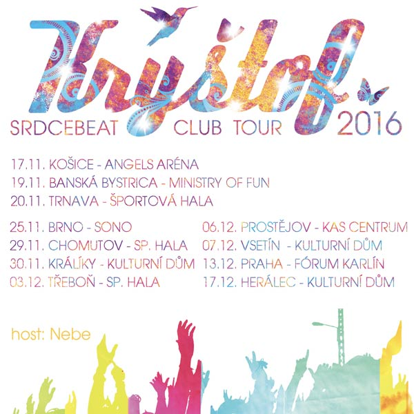KRYŠTOF Srdcebeat SK Club Tour 2016