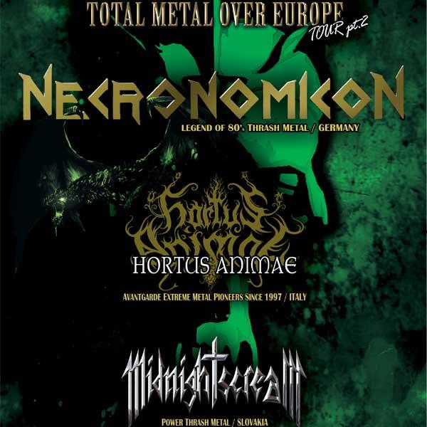 TOTAL METAL OVER EUROPE TOUR pt. 2