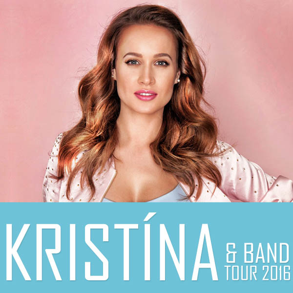 KRISTÍNA & BAND TOUR 2016