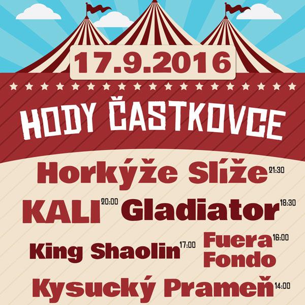 HODY ČASTKOVCE 2016