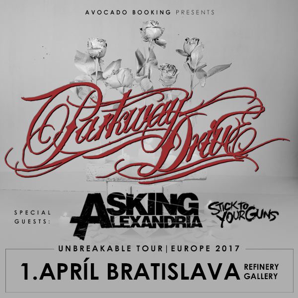 PARKWAY DRIVE – Unbreakable Tour Europe 2017