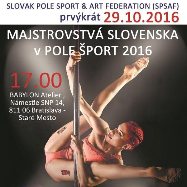 Majstrovstvá Slovenska v pole šport 2016