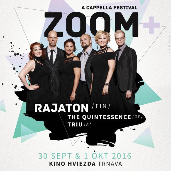 Medzinárodný a cappella festival Zoom+ 2016