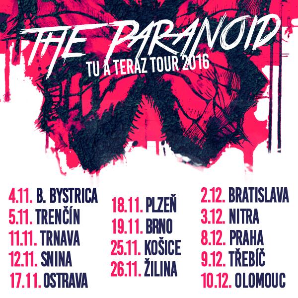 THE PARANOID tour 2016