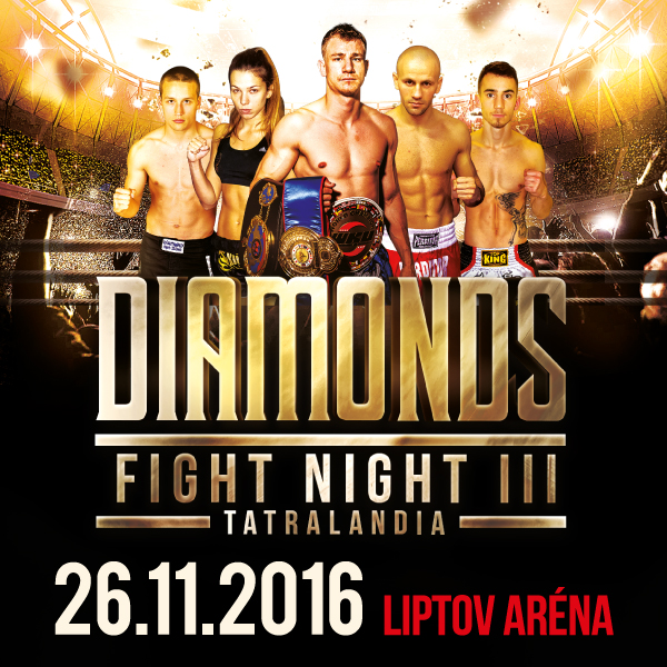 DIAMOND FIGHT NIGHT TATRALANDIA 2016