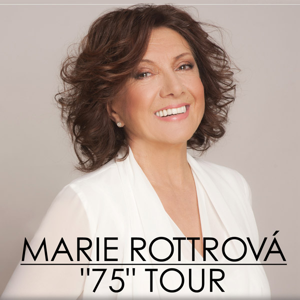 Marie Rottrová - 75 tour