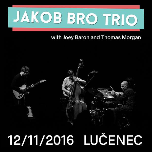 Jakob Bro Trio (with Joey Baron and Thomas Morgan)