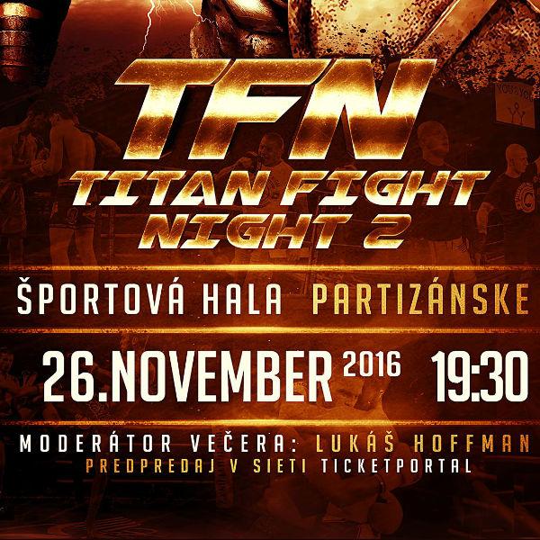 TITAN FIGHT NIGHT vol 2