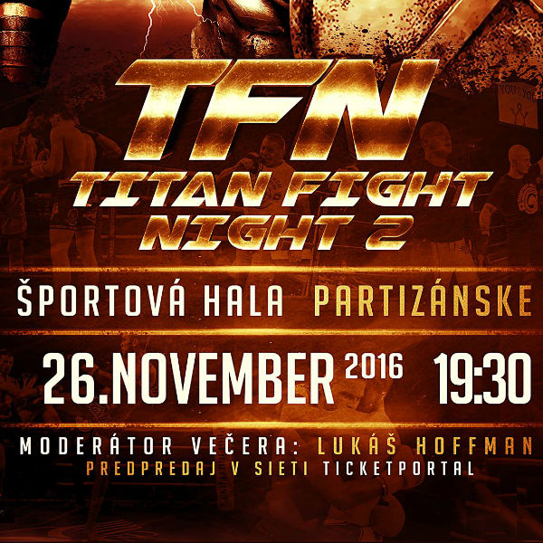 TITAN FIGHT NIGHT vol 2