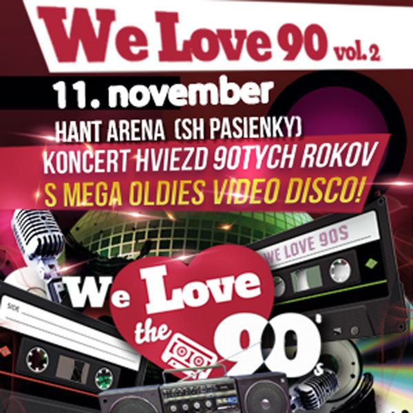 We Love The 90´s vol.2: SNAP!, Captain Jack, Loona