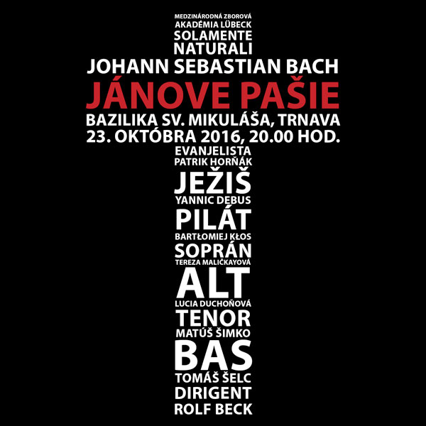 Johann Sebastian Bach - Jánove pašie BWV245