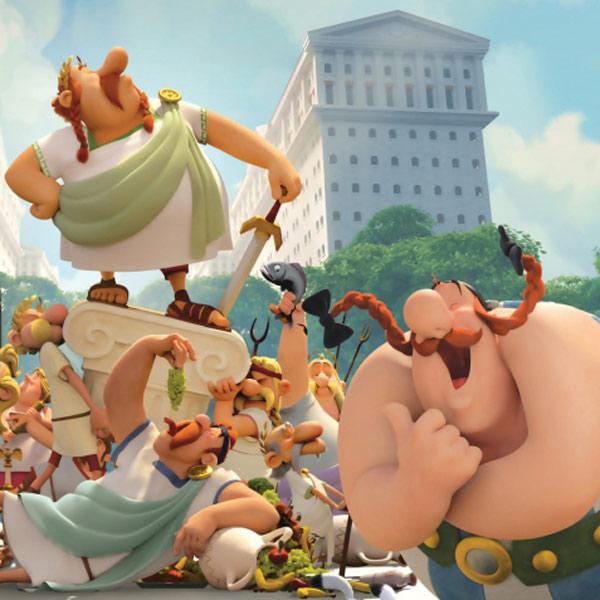 Asterix: Sídlo bohov - Filmový klub Kamel