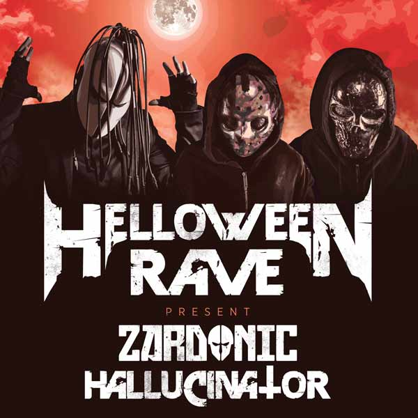 Helloween Rave w. Zardonic & Hallucinator