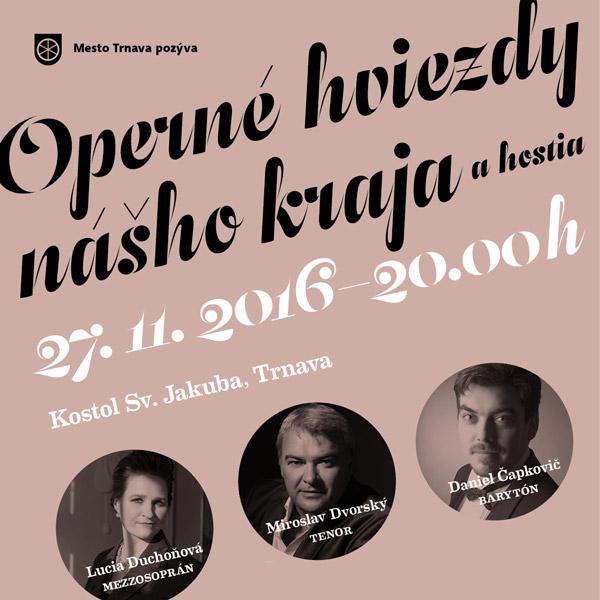 Operné hviezdy nášho kraja a hostia