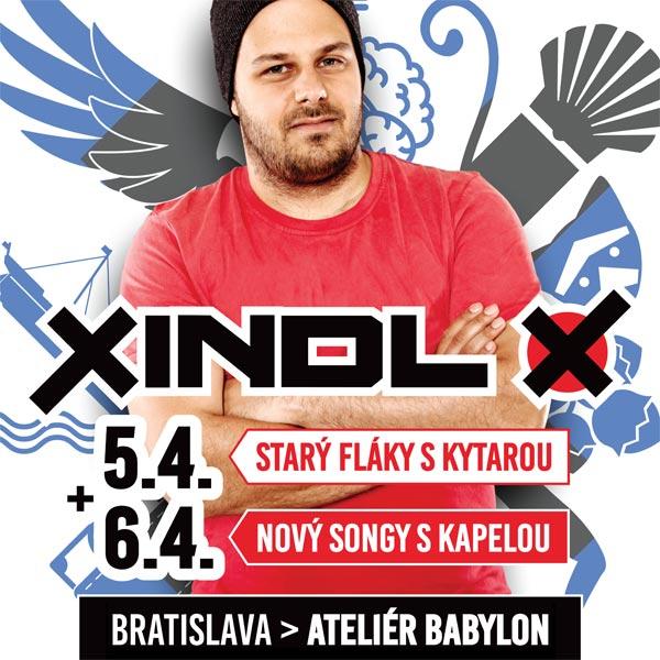 XINDL X – Nový songy s kapelou a starý fláky ...