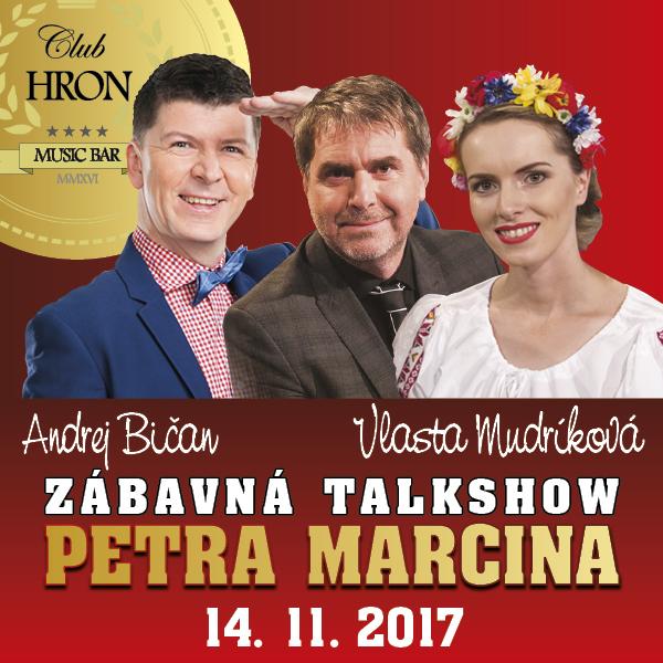 Zábavná talkshow PETRA MARCINA