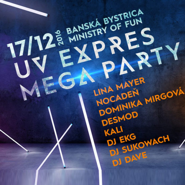 RADIO EXPRES MEGA UV PARTY
