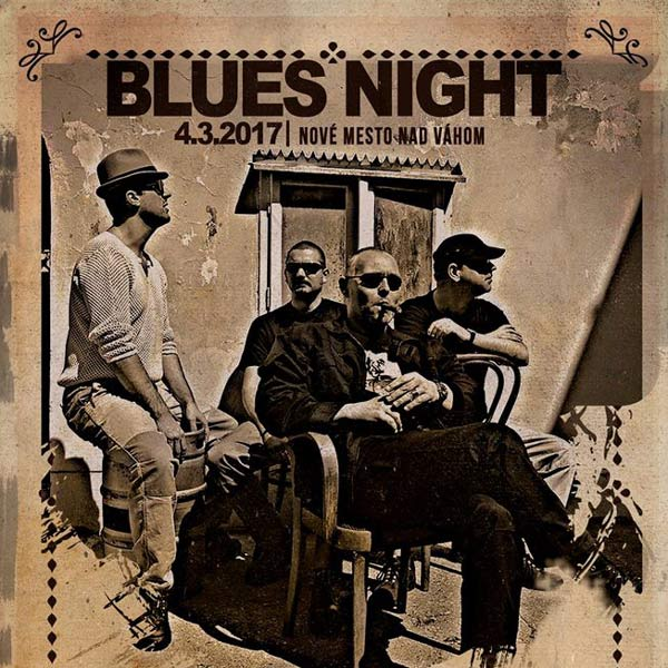 Blues Night: P. CMORIK & P. LIPA & B. PROCHÁZKA