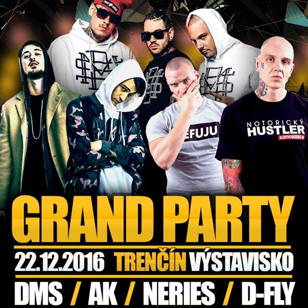 GRAND PARTY - DMS, NERIEŠ, AK, D-FLY