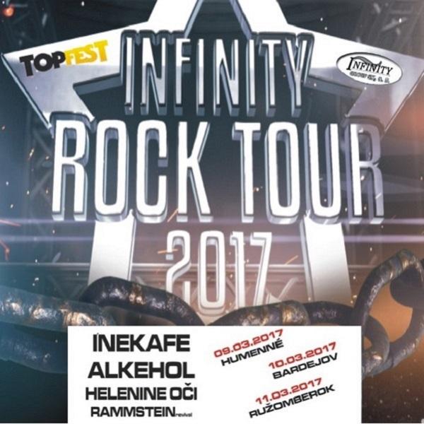 INFINITY ROCK TOUR 2017