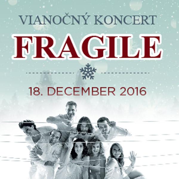 Vianočný koncert FRAGILE v Kursalone