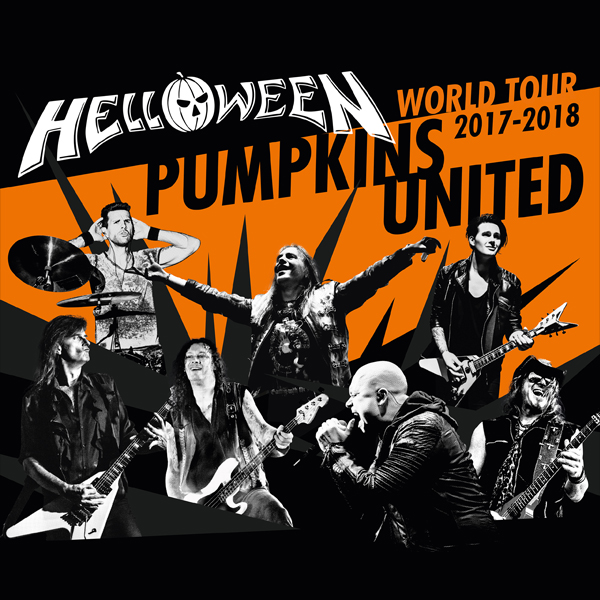 Helloween - Pumpkins United World Tour