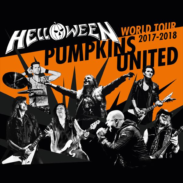 Helloween - Pumpkins United World Tour