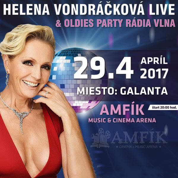 H. Vondráčková Live a Oldies párty s Rádiom Vlna