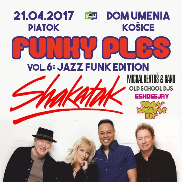 FUNKY PLES 2017 with SHAKATAK (UK)