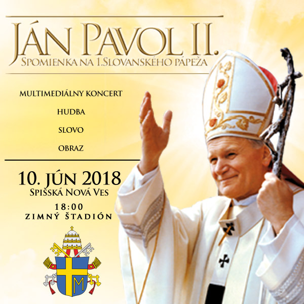 JÁN PAVOL II. Spomienka na 1.Slovanského pápeža
