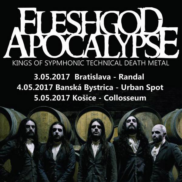 FLESHGOD APOCALYPSE Tour 2017