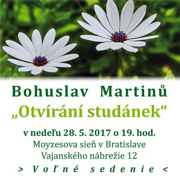 Bohuslav Martinů Otvírání studánek